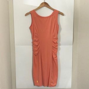 LOLE small peach activewear body con summer dress